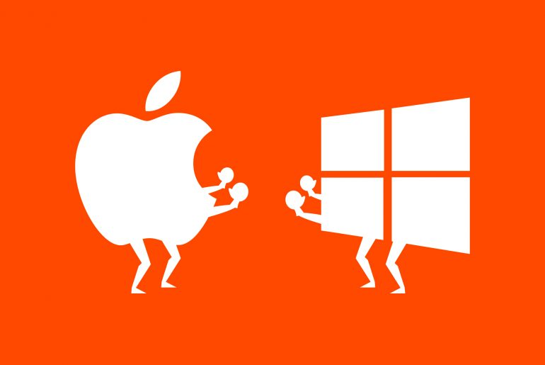 Marketing wars apple vs microsoft